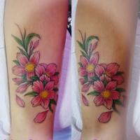 桜タトゥー・女性