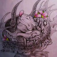 般若・蛇・桜